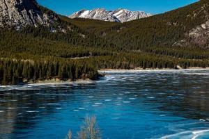 Barrier Lake. Bow Valley Wildlife Park. Alberta, Canada photo