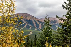 Mount Nakiska. Bow Valley Wilderness Area, Alberta, Canada photo