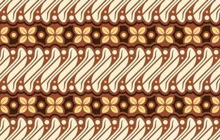 Batik Parang Seamless Pattern vector