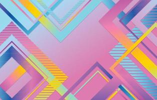 Colorful Abstract Background Template Design vector