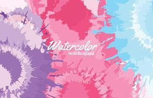 fondo de acuarela de salpicaduras de colores vector