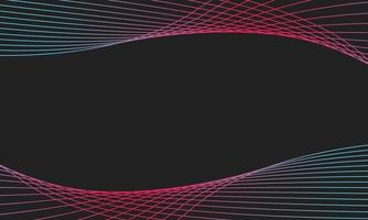 Elegant abstract smooth swoosh speed. red and blue wave modern stream. vector