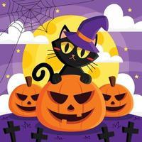 feliz halloween para ti vector