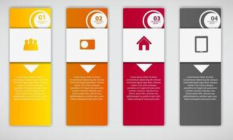 Infographic business template vector illustration