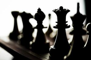 Strategy Playing Game Chess photo