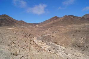 volcanic mountains of Fuerteventura - Spain photo