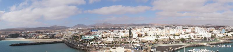Puerto del Rosario from the perspective of the cruise terminal photo