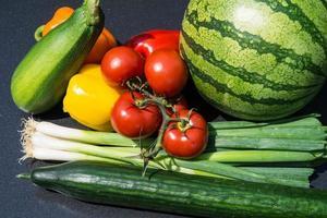 verduras frescas y saludables foto