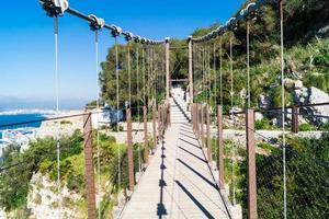 The Windsor Bridge in the nature Reserve upper Rock Gibraltar photo