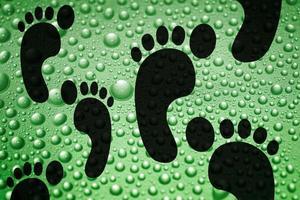 Carbon footprint, Carbon neutrality concept photo