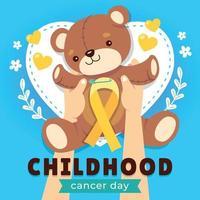 Childhood Cancer Awareness vector