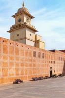 palacio de la ciudad de jaipur en la ciudad de jaipur foto