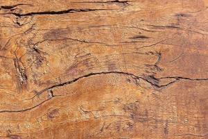Fondo de textura de madera marrón. foto