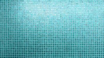 Blue tiles pattern square texture photo