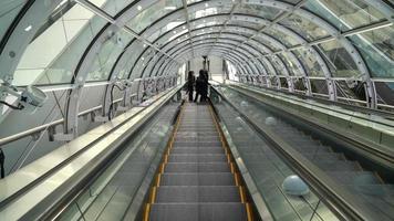 Escalator in Odaiba, Tokyo, Japan video