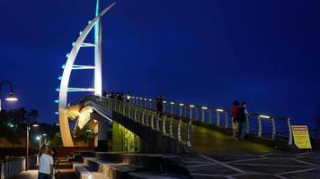 Timelapse Saeyeongyo Bridge in Jeju Island, South Korea video