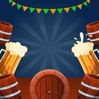 Beer Festival Celebration vector