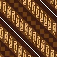 Batik ParangSeamless Pattern vector
