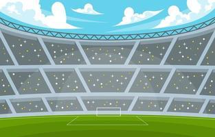 Football Stadium Background vector
