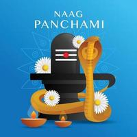 Naag Panchami Festival vector