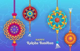Raksha Bandhan Celebration vector