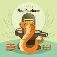 Happy Nag Panchami vector