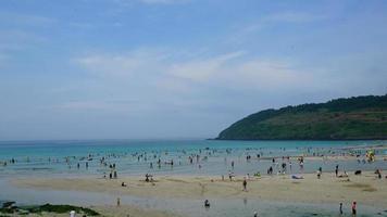 timelapse Hamdeok Beach in Jeju Island, South Korea video