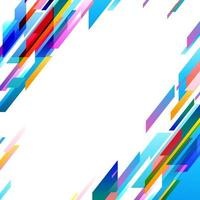 Colorfull Rainbow dynamic background vector