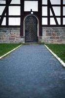 vendimia, antigua, arquitectura alemana, casa de campo foto