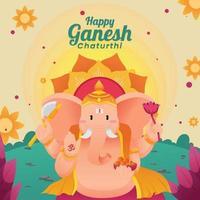 Ganesh Chaturhi Festival vector