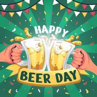 Happy Beer Day vector