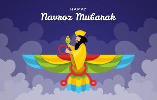 Navroz Mubarak Day vector