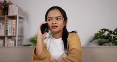 Girl Talking on Phone video