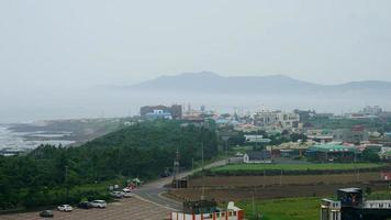 Time lapse Jeju City scape in South Korea video