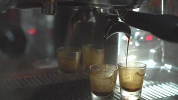 Making coffee machine video