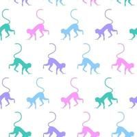 Seamless Pattern background swatch for baby textile fabric vector