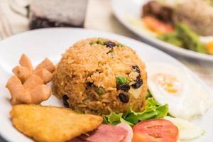 American fried rice photo