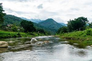 Kiriwong village - one of the best fresh air village in Thailand photo