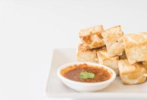 Fried Tofu - healthy food photo
