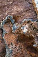 Natural Pattern Salty Rocks Surface photo