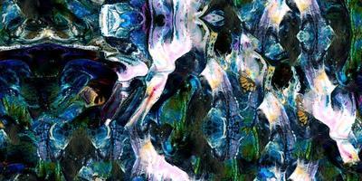 Pintura de colores abstractos surrealistas sin fisuras y fondo enlosable foto