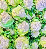 Healthy and Organic Vegetable Cauliflower photo