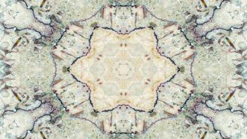 caleidoscopio de alfombra étnica auténtica foto