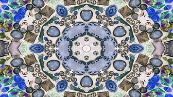 Ethnic Authentic Carpet Kaleidoscope photo