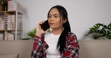 Girl Talking on a Phone video