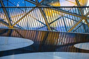 Abstract Glass Building Towers Business Structure photo