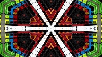 Cables Electric Wires Kaleidoscope photo