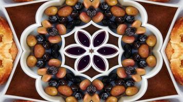 Abstract Breakfast Kaleidoscope photo