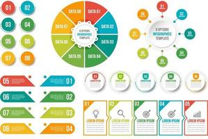 Big set of vector infographic elements