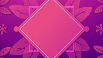 fond de bannière d'ouverture dans le ton violet. video